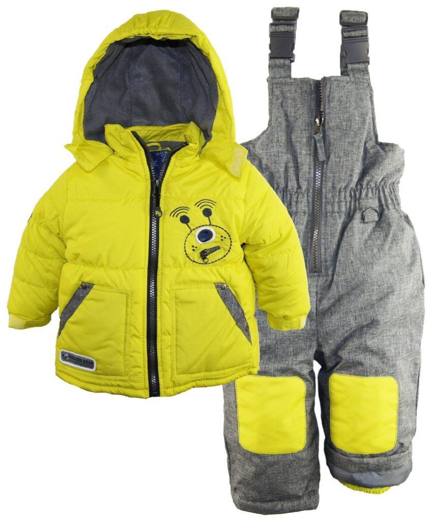Rugged Bear Baby Boys' Robot Winter 2 Piece Snowsuit Ski ...