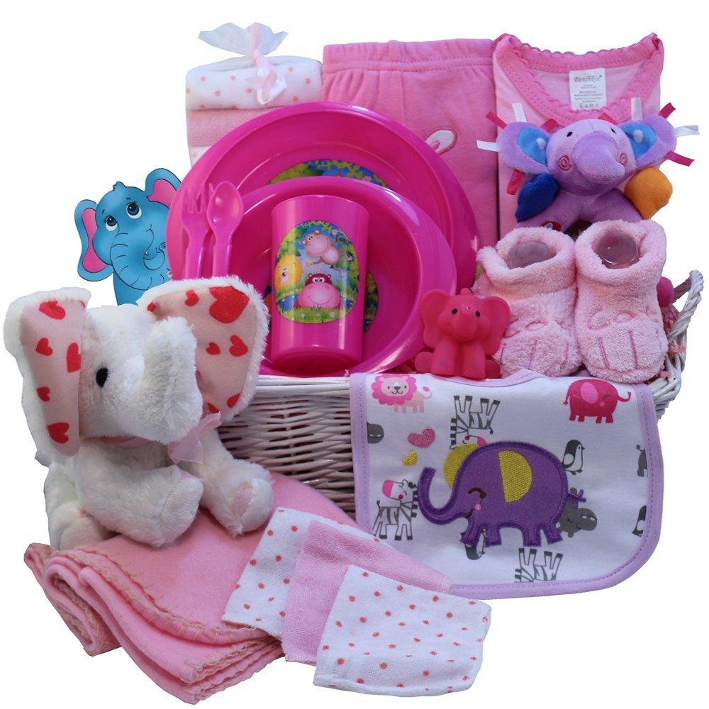 Baby Gift Basket Interflora : Art of appreciation gift baskets ellie the elephant new